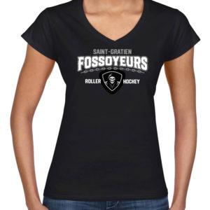 T-Shirt Femme «Chaîne Fossoyeurs»